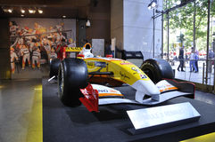 Formule de Renault Photos stock