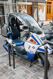 Formule 1 du scooter C1 200 de BMW Images libres de droits