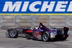 Formule E - Sam Bird - Vierge Image stock