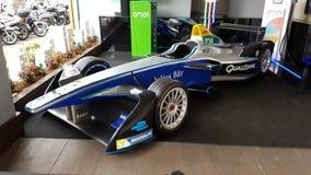 Formule E, voiture de course d'Enel Photos stock