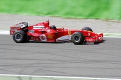 Formule 1 f2005 de Ferrari Photos libres de droits