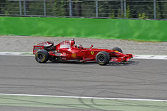 Formule 1 f2008 de Ferrari Images libres de droits