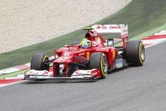 Formule 1 - Felipe Massa Images libres de droits