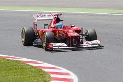 Formule 1 - Fernando Alonso Photo libre de droits