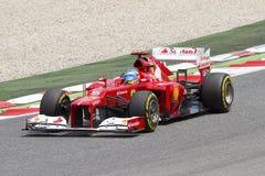 Formule 1 - Fernando Alonso Photo stock
