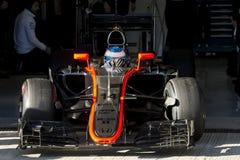 Formule 1 2015 : Fernando Alonso Photographie stock libre de droits
