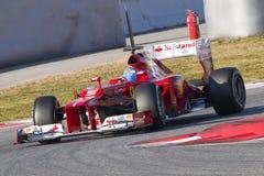 Formule 1 Ferrari Photo libre de droits