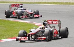 Formule 1 Grand prix Photos libres de droits