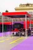 Formule 1, Grand prix de l'Europe, Bakou 2016 Photos stock