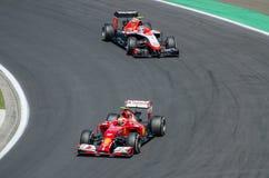 Formule 1 - Kimi Raikkonen stock afbeeldingen