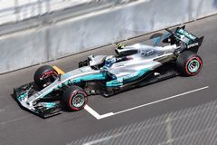 FORMULE 1 MONACO 2017 DE MERCEDES AMG-BOTTAS-GP Photos libres de droits