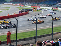 Formule Renault 3.5 Photos libres de droits