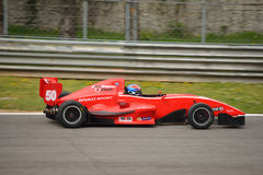 Formule Renault 2 0 autotest in Monza stock afbeeldingen