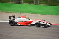 Formule Renault 2 0 autotest in Monza Stock Foto's