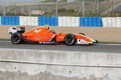 Formule Renault 3 5 reeks 2014 - Beitske Visser - AVF Royalty-vrije Stock Foto