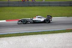 Formule 1 Sepang 2010 avril Photos libres de droits