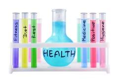 Formule van gezonde levensstijl. Stock Fotografie