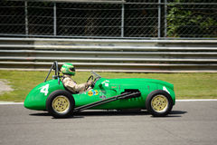 1953 Formule 2 van KuiperBristol MkII T23 auto Royalty-vrije Stock Foto's