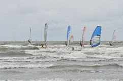 Formule windsurfing Photographie stock