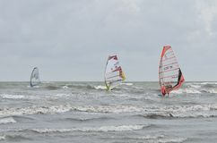 Formule windsurfing Photo libre de droits