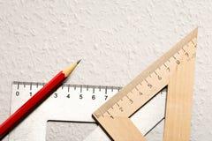 Formulera hjälpmedel på vit bakgrund Fotografering för Bildbyråer