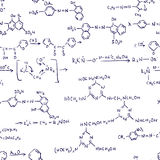 formules de chimie sans joint Photo libre de droits