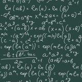 Formules de maths illustration de vecteur