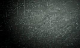 Formules en cijfers Royalty-vrije Stock Foto's
