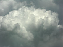 Formung der Wolke Lizenzfreies Stockfoto