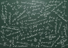 Formuły matematyka Fotografia Royalty Free