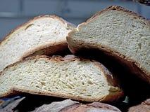 Formy inny włoski domowej roboty chleb na jeden obraz royalty free