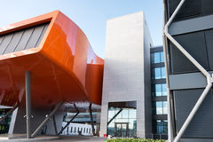 IT Fornabu biuro - supernowoczesny budynek Obraz Royalty Free