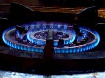 Fornace del gas naturale Fotografie Stock