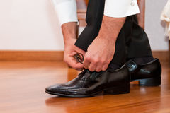 Fornalów buty Obraz Royalty Free