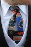 Fornal w Gator krawacie zdjęcie royalty free