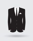 Fornala kostiumu kurtki strój royalty ilustracja