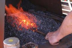 Fornalha do ferreiro Foto de Stock Royalty Free