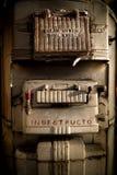 Fornalha velha de carvão fotografia de stock