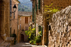 Fornalutx, Baleaarse Majorca, royalty-vrije stock afbeelding