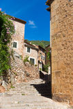 Fornalutx village in Majorca Balearic island Royalty Free Stock Photos
