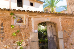 Fornalutx village in Majorca Balearic island Royalty Free Stock Photography