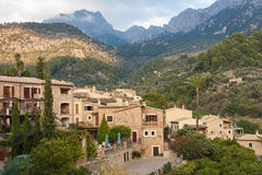 Fornalutx village in Majorca Stock Photography