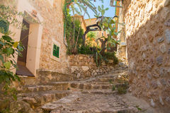 Fornalutx village on mallorca Royalty Free Stock Photography
