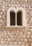 Fornalutx window detail Royalty Free Stock Photos
