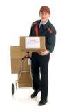 Fornecimento de serviços postal Imagem de Stock Royalty Free
