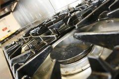 Fornello commerciale Fotografia Stock