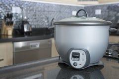 Fornello di riso grigio - arrocera di Olla fotografia stock