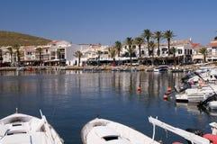 Fornells Menorca Stockfotos