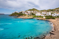 Fornells in Menorca Cala Tirant beach at Balearic Islands Royalty Free Stock Images