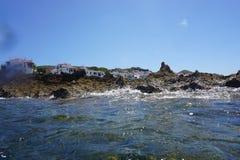 Fornells - Menorca - isole delle Baleari - Spagna Immagini Stock Libere da Diritti